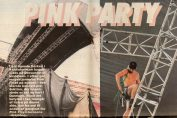 Article from Berlingske tidende on the upcoming Pink Floyd concert in Parken on August 25th, 1994.