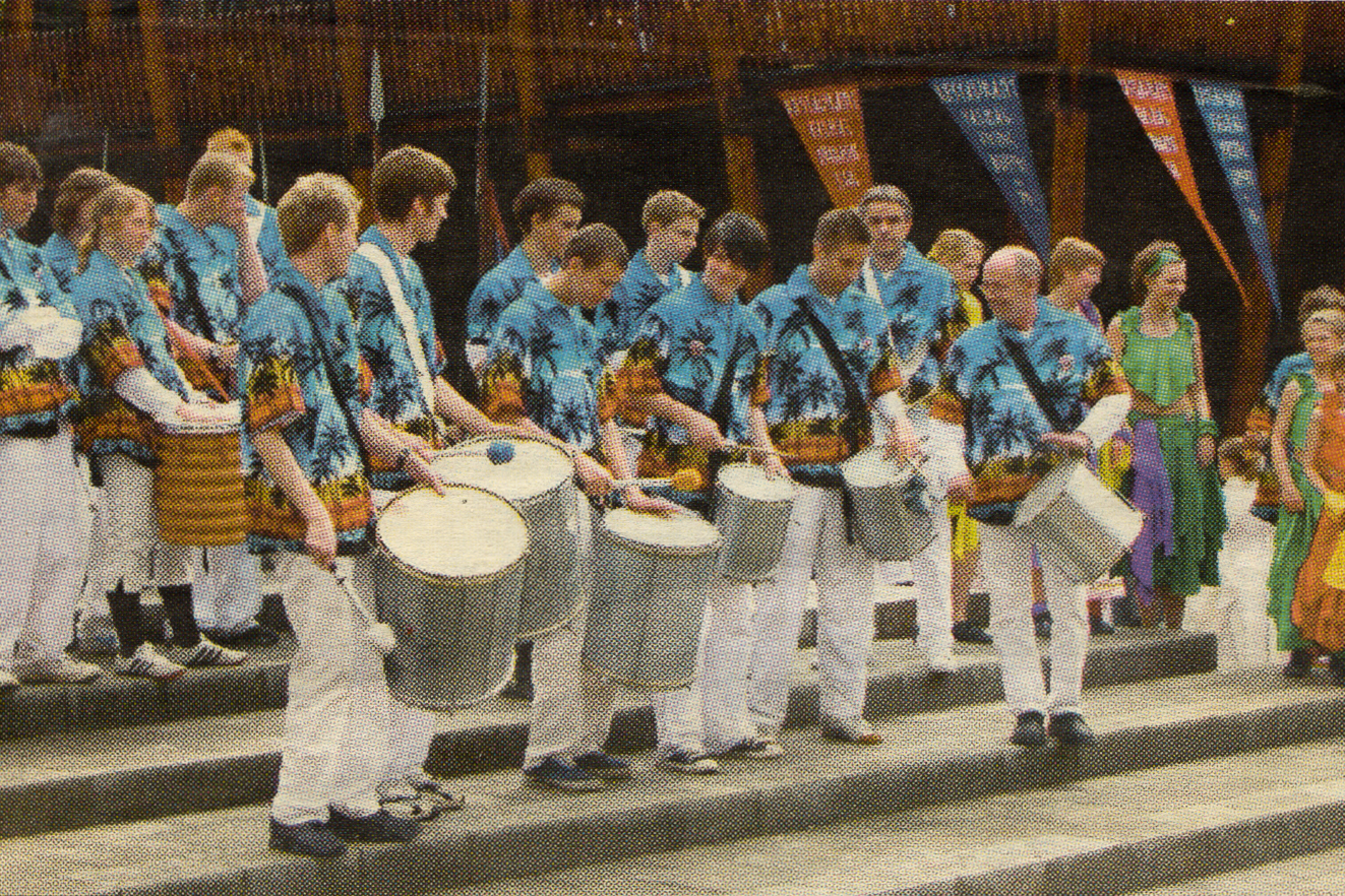Ringsted Street Parade in Tivoli on May 21st, 2005.