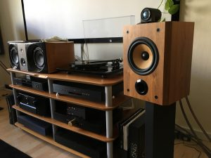B&W Matrix 805 with Densen and Rega