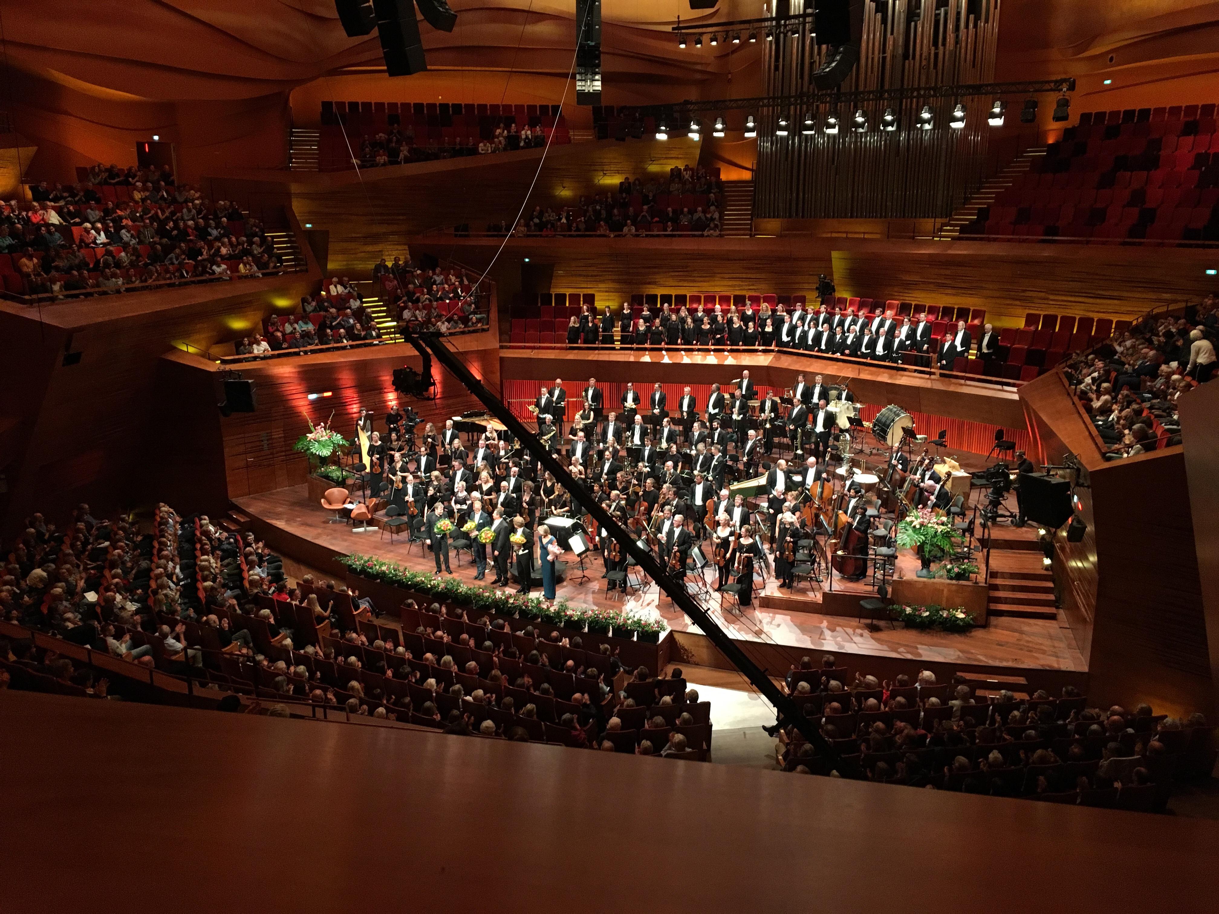 DR Symfoniorkestret i DR Koncerthuset's koncertsal