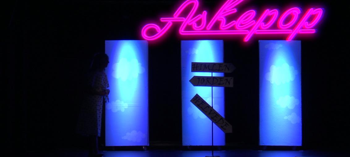 Screen capture fra Ringsted Musik- og Kulturskole's udgave af Askepop.